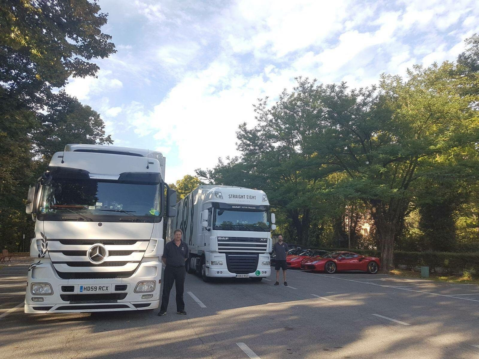Straight Eight Logistics HGV Class 1 Drivers